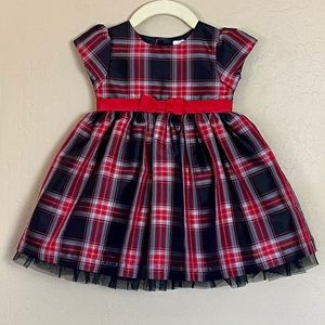 Carter's Plaid Taffeta Party Dress